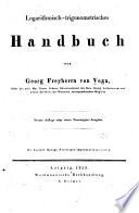 Logarithmisch-trigonmetrisches Handbuch