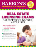 Barron's Real Estate Licensing Exams, 10th edition