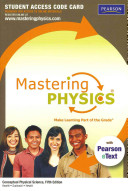 Masteringphysics with Pearson Etext    Standalone Access Card    For Conceptual Physical Science