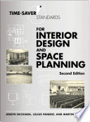 Time Saver Standards for Interior Design and Space Planning  Second Edition Book PDF