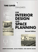 Time-Saver Standards for Interior Design and Space Planning, Second Edition Pdf/ePub eBook