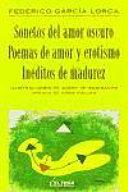 Sonetos Del Amor Oscuro Poemas De Amor Y Erotismo