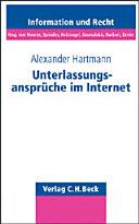 Unterlassungsansprüche im Internet