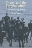 France and the Dreyfus Affair  A Documentary History