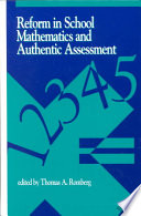 Reform in School Mathematics and Authentic Assessment.pdf
