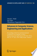 Advances in Computer Science  Engineering   Applications