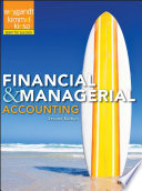 """Financial & Managerial Accounting"" by Jerry J. Weygandt, Paul D. Kimmel, Donald E. Kieso"