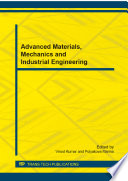 Advanced Materials  Mechanics and Industrial Engineering