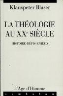 La théologie au XXe siècle