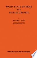 Solid State Physics for Metallurgists Book