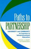 Paths to Partnership