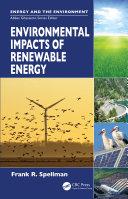 Environmental Impacts of Renewable Energy Pdf/ePub eBook
