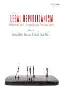 Legal Republicanism: National and International Perspectives - Seite 6