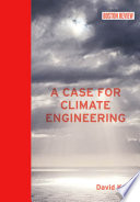 Book Cover: A Case for Climate Engineering