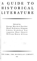 A Guide to Historical Literature