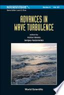 Advances in Wave Turbulence
