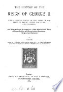 The history of the reign of George ii