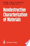 Nondestructive Characterization of Materials