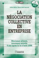 La négociation collective en entreprise - 4e édition