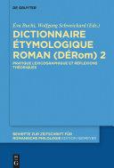 Dictionnaire Étymologique Roman (DÉRom) 2 Pdf/ePub eBook