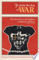 To Chain the Dog of War Book
