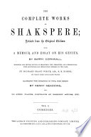 The Complete Works of Shakspere