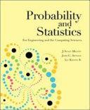 Probability And Statistics Book PDF