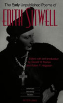 Dame Edith Sitwell Books, Dame Edith Sitwell poetry book