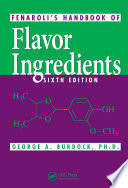 Fenaroli S Handbook Of Flavor Ingredients Book PDF