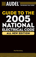 Audel Guide to the 2005 National Electrical Code Pdf/ePub eBook