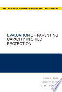 Evaluation of Parenting Capacity in Child Protection Book