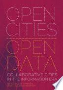 Open Cities   Open Data Book PDF