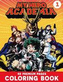 My Hero Academia Coloring Book Vol1