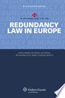 Redundancy Law in Europe