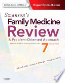 """Swanson's Family Medicine Review E-Book"" by Alfred F. Tallia, Joseph E. Scherger, Nancy Dickey"