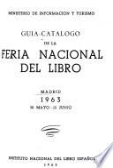 Guía-catálogo de la Feria Nacional del Libro