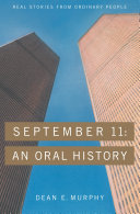 Pdf September 11: An Oral History Telecharger
