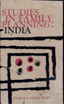 Studies In Family Planning: India