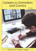 link to Careers in animation and comics in the TCC library catalog