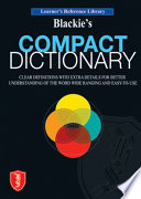 Blackie S Compact Dictionary
