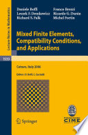Mixed Finite Elements  Compatibility Conditions  and Applications