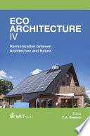 Eco architecture IV Book
