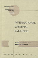 International Criminal Evidence