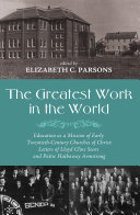 The Greatest Work in the World Book