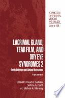 Lacrimal Gland  Tear Film  and Dry Eye Syndromes 2
