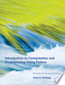 Cover of Introduction to Computation and Programming Using Python