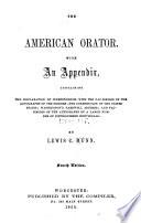 The American Orator Book