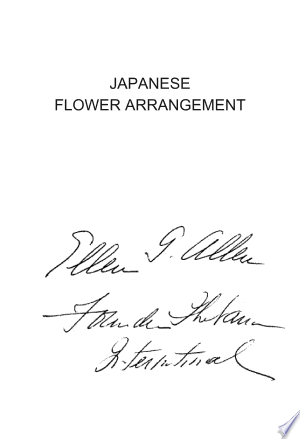 Free Download Japanese Flower Arrgt- Primer PDF - Writers Club