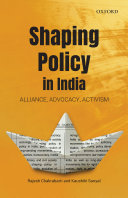 Shaping Policy in India