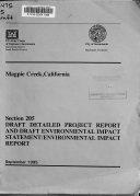 Magpie Creek  California